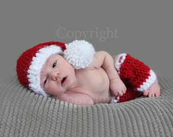 Christmas Hat Santa Hat Newborn Santa Hat Baby Santa Child  182e596a9d7e
