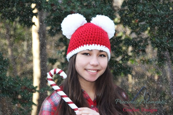 Christmas Hat Adult Christmas Hat Holiday Hat Women s  1f1cb551d5