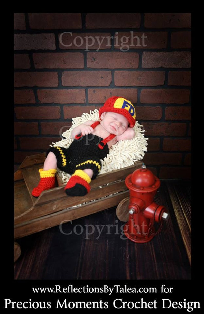 a3a21e62fb3 Newborn Fireman Hat Pants with Suspenders and Boots Baby