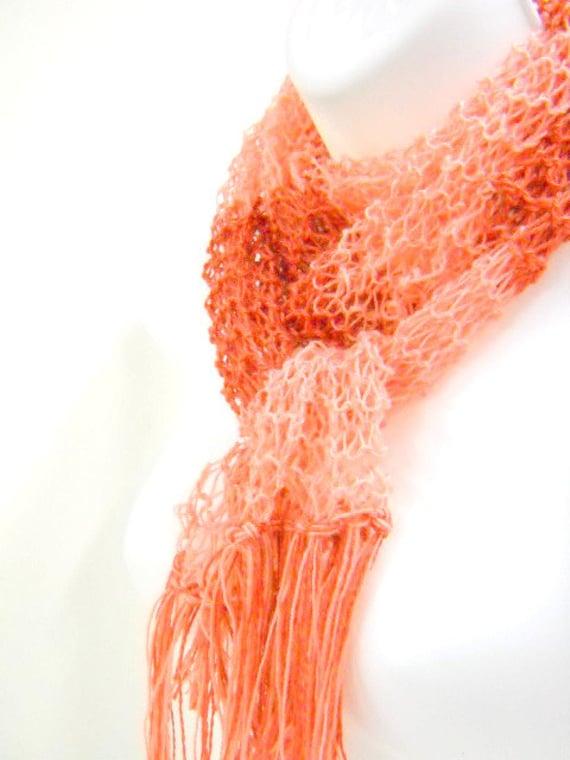 2d7d53cb7d0f Mary Poppins inspiré tricot écharpe lécharpe ajourée en   Etsy
