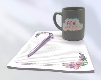 JW Pioneer Letter Writing Gift Box   Stationary   Personalized Mug   Pen   Customized Gifts   Encouragement   Just Because   Goal Gift