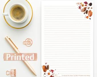 PRINTED Matthew 6:9-10 | JW Letter Writing Stationary Kingdom Campaign English Spanish