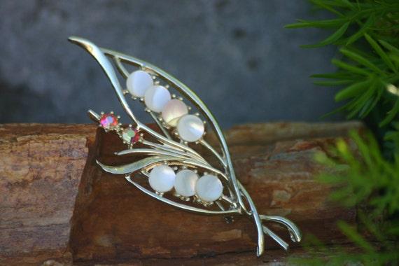 Brooches, Brooch,Vintage Brooch, Brooch, Pearls, … - image 2