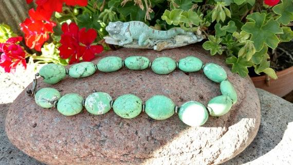 Beaded chunky necklace, Handmade jewelry, Bohemian
