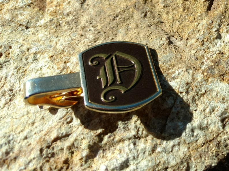 Wedding gifts for him tie tack Swank cufflinks and tie clip Christmas Vintage apparel men/'s fashion brown Swank Jewelry tuxedo