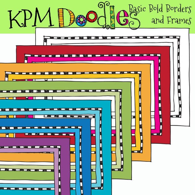 KPM Basic Bold Borders and frames