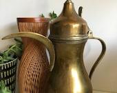 brass saudi arabia dallah coffee pot