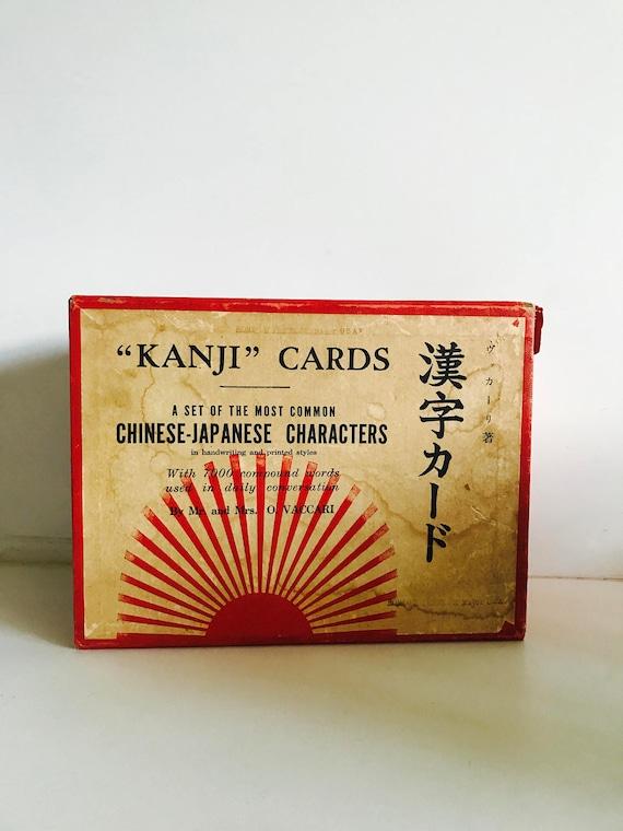 Mid Century Kanji Card Set