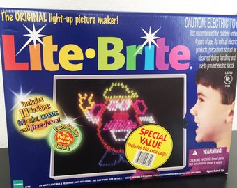 photo relating to Lite Brite Refill Sheets Printable Free titled Lite brite Etsy