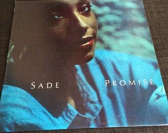 Vintage Original 1985 SADE Promise US 1st Pressing LP Album Record Vinyl Excellent 1985