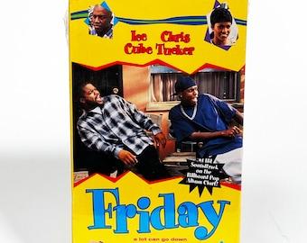 Friday 1995 MOVIE POSTER Ice Cube Chris Tucker Film A3 A4 Art Print Wall Decor