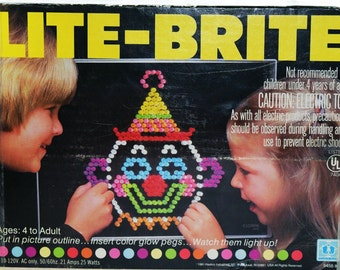 picture regarding Lite Brite Refill Sheets Printable Free titled Lite brite Etsy
