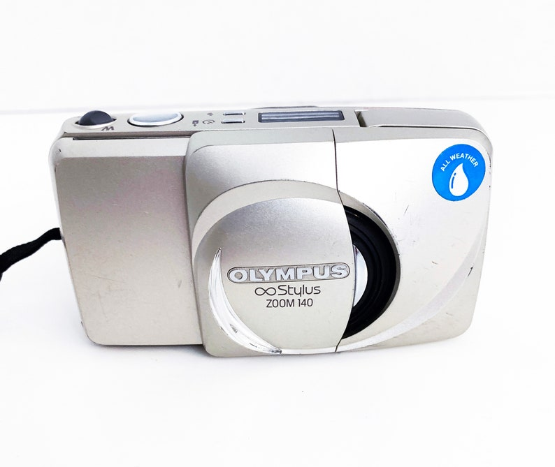 Vintage Olympus Stylus 140 Zoom 35mm Point Shoot Film Camera ...