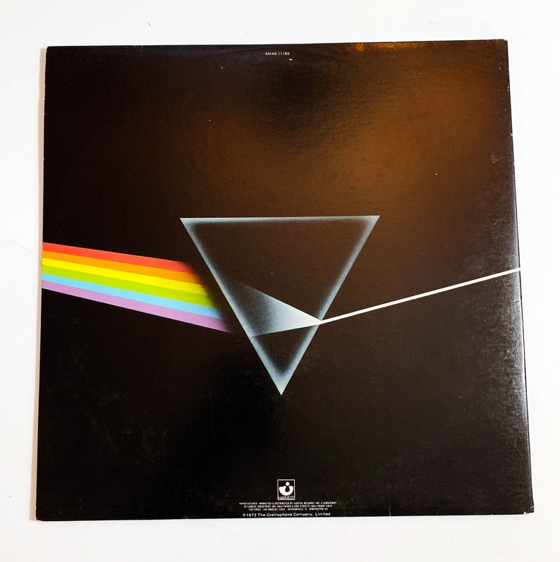 Vintage Pink Floyd The Dark Side of the Moon Vinyl LP Record Album No  Barcode 1973 Money 12