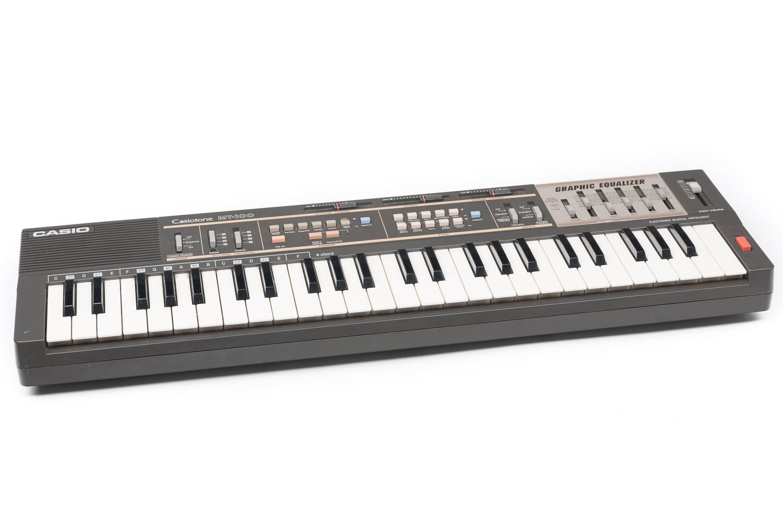 Vintage Casio Mt 100 Keyboard Midi Synthesizer Circuit Bending Etsy Electronic 50