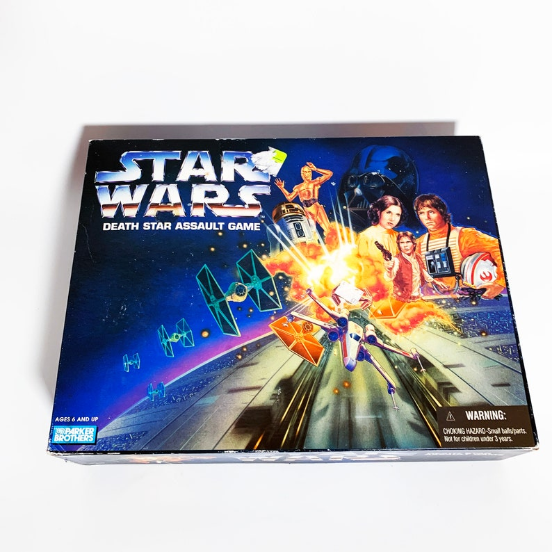 Vintage Star Wars Death Star Assault Game Board Game ...