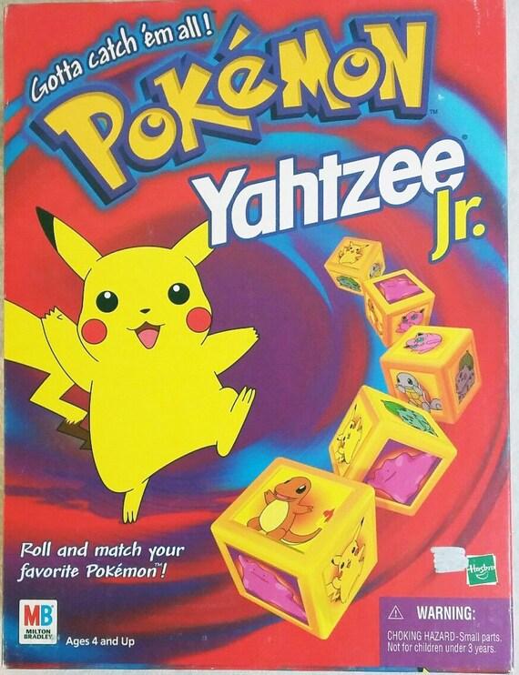 Pokemon Yahtzee Jr Spiele Game