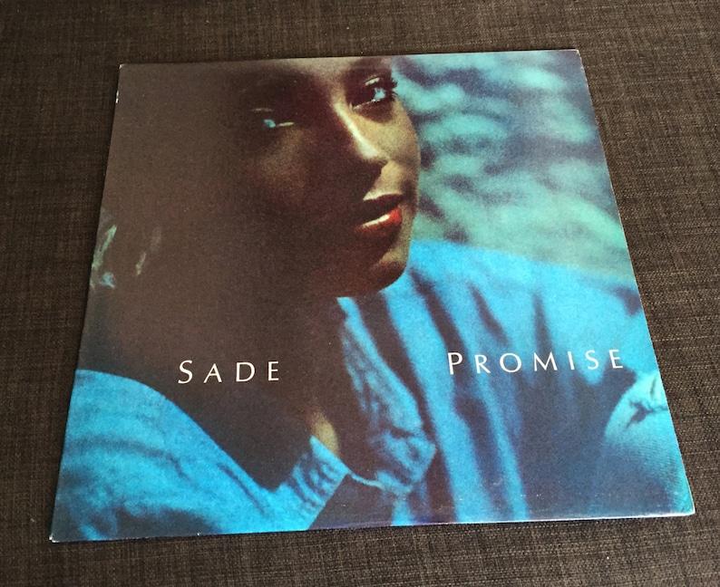 Vintage Original 1985 SADE Promise US 1st Pressing LP Album image 0