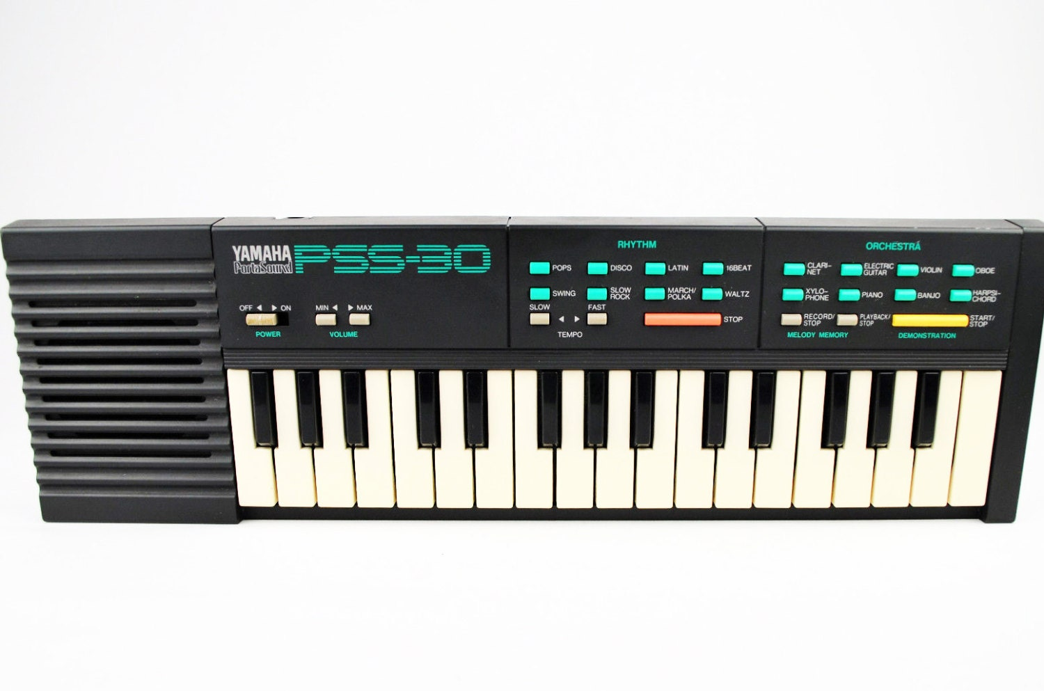 Vintage Yamaha Pss 30 80s Music Synth Keyboard Circuit Bending Etsy Theremincircuit 50
