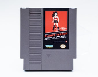 Planet Terror - 8-Bit Custom NES Game