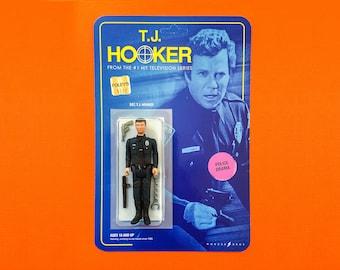 T.J. Hooker - Custom Action Figure