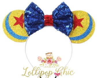 Restocked!! Toy Story inspired minnie mouse ear headband