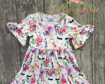Unicorn birthday dress unicorn dress