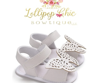 Butterfly Baby soft shoes infant shoes