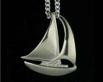 Sailboat Pendant