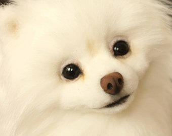 Stuffed Pomeranian Etsy