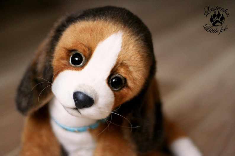 516c8f637001 Realistic Beagle dog OOAK stuffed puppy collectible Artist | Etsy
