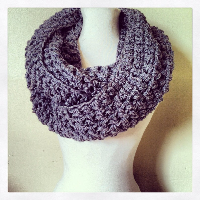 The Simple Series: The Grey Infinity Scarf image 0