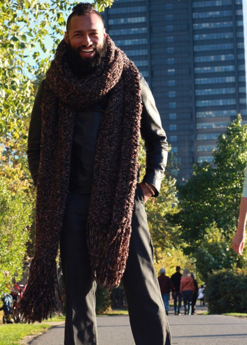 The EROICA: Lenny Kravitz Scarf  Earth Shades image 0