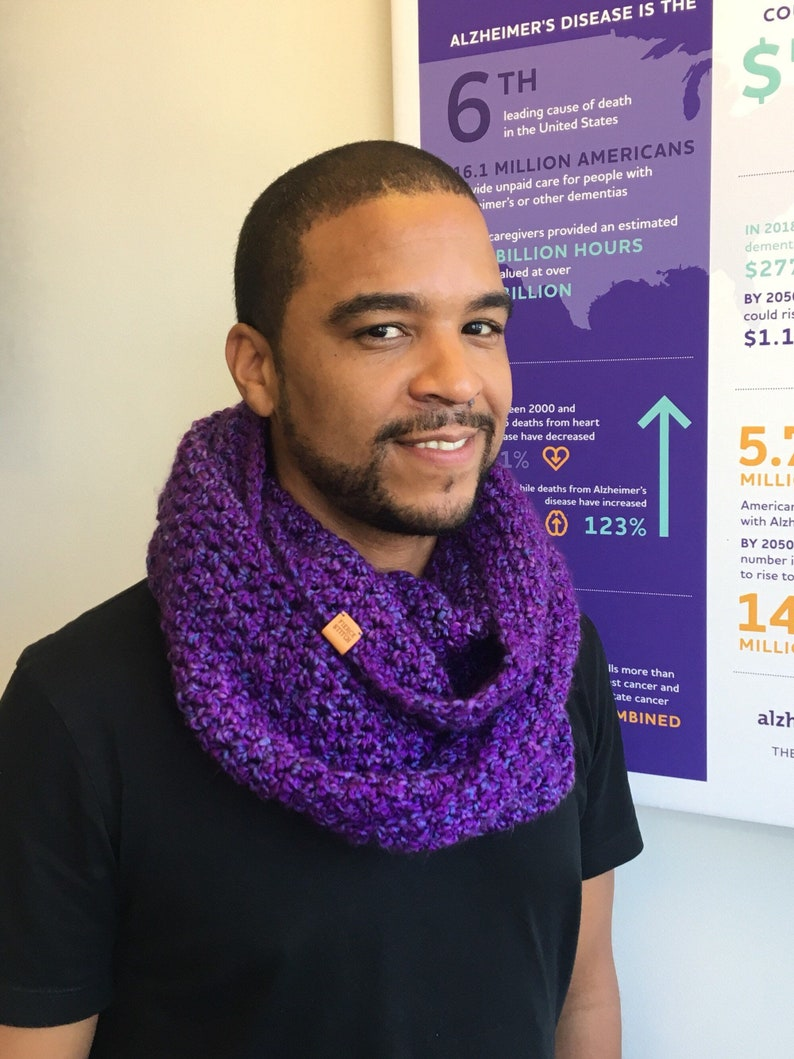 Signature Series Infinity Scarf  Alzheimer's Fundraiser image 0