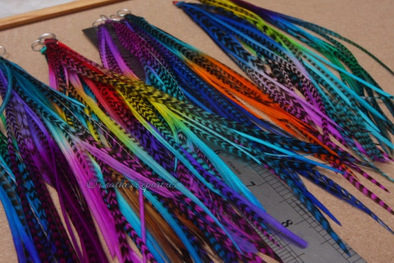 Jewelry Pick Your Legth Up To 16 In Long Feathers For Hair Crafts