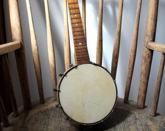 Vintage Waverly Banjolele - Ukulele - Banjo - Musical Instrument