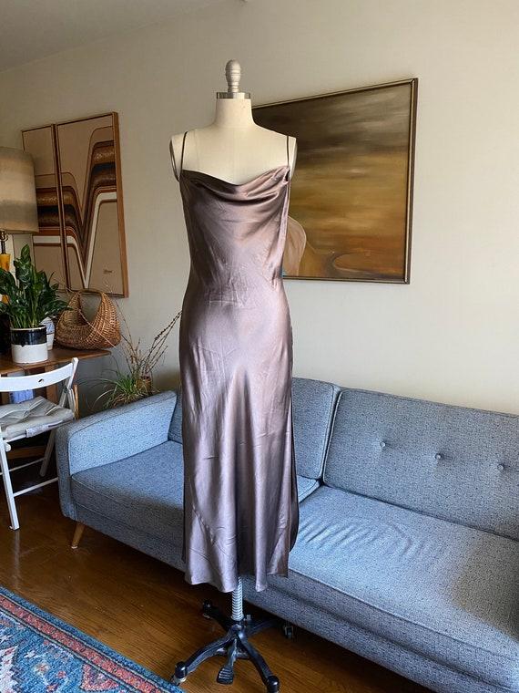 Vintage Silk Slip Dress / Victorias Secret Silk Dr