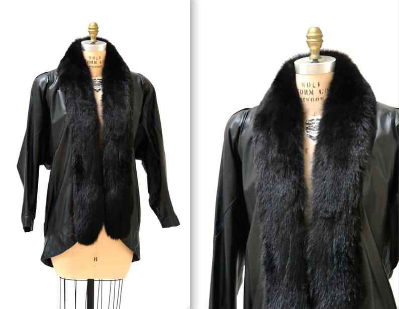 Damen Schwarz Rindsleder Jacke Jahrgang Amerikanisch Fransen und Perlen Mantel