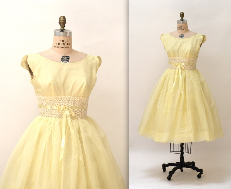 1950s Vintage Prom Dresses One Sleeve