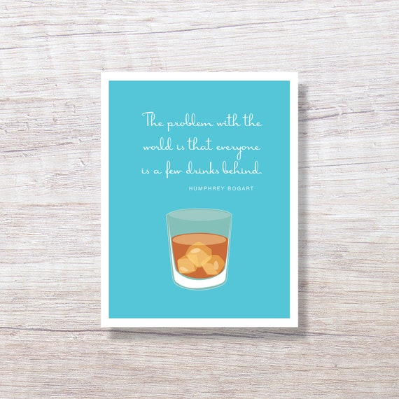 Funny Birthday Cards For Men.Funny Birthday Cards For Him Greeted Birthday Cards For Him For Man For Husband For Father Bogart Quote