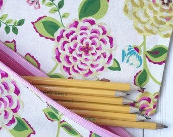 Zipper pencil pouch