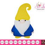 Gnome 3 Applique Design , machine embroidery design
