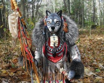 Grey Wolf Manitou (Spirit or Totem)