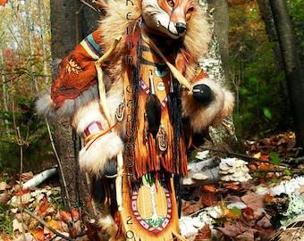 Lame Fox Manitou (Spirit or Totem)