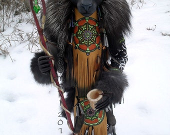 Black Jaguar Manitou (spirit or totem)