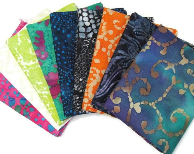 Batik Fat Quarters - Build your own fat quarter batik stash