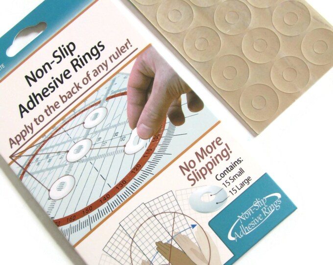 Quilters - Silicone ruler grips - stops rulers from moving