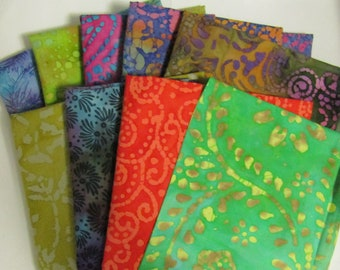 1yd Batik Fabric- Choose your Design- 1 Yard pack