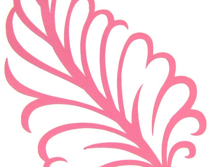 Feather Vinyl Decal - Bling for your Sewing Machine