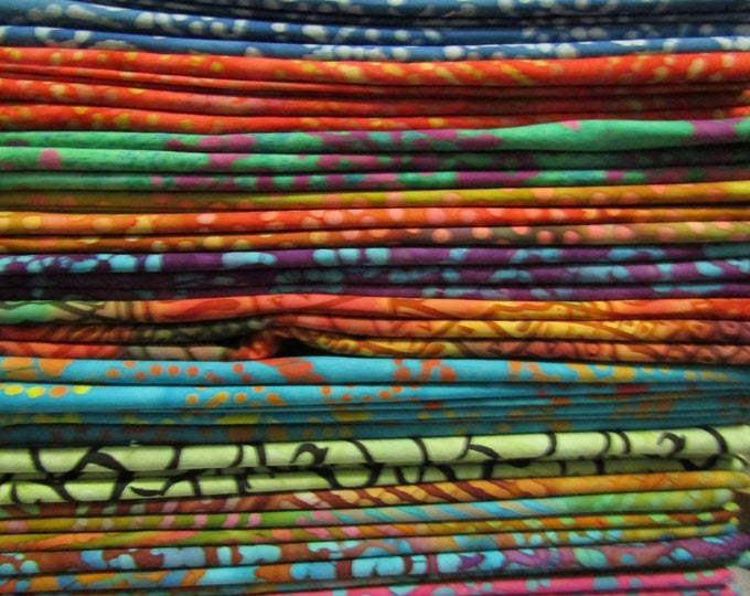 Batik Precuts 1yd packs Assortment